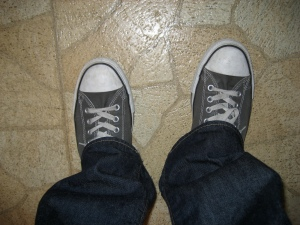 Exhibit A: Chuck Taylors and skinny jeans