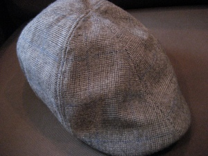 Exhibit C: Aforementioned newsboy hat
