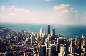 I actually took this from atop the Sears Tower...when I was an actual tourist